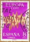 Stamps Spain -  EUROPA - CEPT