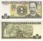 monedas de America - Cuba -  Peso