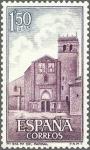 Sellos de Europa - España -  ESPAÑA 1968 1894 Sello Nuevo Monasterio de Sta. Mª del Parral (Avila) Fachada