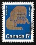 Sellos de America - Canadá -  Readaptation