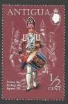 Sellos de America - Antigua y Barbuda -  Drummer Boy, 4th King's Own Regiment (1759)