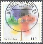 Sellos de Europa - Alemania -  Servicio postal.