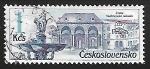 Sellos de Europa - Checoslovaquia -  Prague fountains