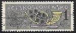 Sellos de Europa - Checoslovaquia -  Dia del sello