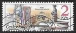 Sellos de Europa - Checoslovaquia -  Praha staromestske namesti - Plaza de la Ciudad Vieja