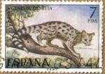 Stamps Spain -  GINETA - Fauna Hispanica