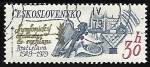 Stamps Czechoslovakia -  Musical Instruments,