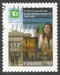 Sellos del Mundo : America : Canadá :  150th Anniv. of Toronto Dominion Bank Financial Group (2005)
