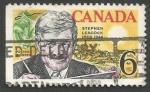 Sellos del Mundo : America : Canadá :  The 100th Anniversary of the Birth of Stephen Butler Leacock, Humorist (1969)