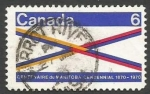Sellos del Mundo : America : Canadá : Manitoba Centennial (1970)