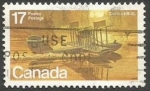 Sellos del Mundo : America : Canadá : Curtiss HS-2L (1979)