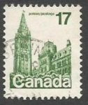 Sellos del Mundo : America : Canadá : Houses of Parliament (1979)
