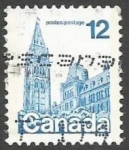 Sellos del Mundo : America : Canadá : Houses of Parliament (1977)