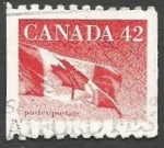 Sellos del Mundo : America : Canadá : The Canadian Flag (1991)