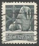 Sellos del Mundo : America : Canadá : Walrus (Odobenus rosmarus) (1954)