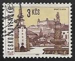 Stamps Czechoslovakia -  Bratislava