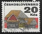 Sellos de Europa - Checoslovaquia -  Čičmany