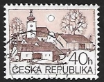 Stamps Czechoslovakia -  Village church