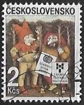Sellos de Europa - Checoslovaquia -  XIII bienal de ilustración bratislava - Dibujos infantiles