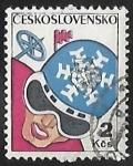 Stamps Czechoslovakia -   6th Winter Spartakiad
