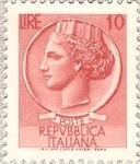 Sellos del Mundo : Europa : Italia : Italia Turrita-10L