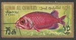 Sellos del Mundo : Asia : Emiratos_Árabes_Unidos : Umm Al Qiwain - Ostichthys japonicus juv. (1967)
