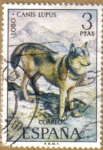 Sellos de Europa - España -  LOBO - Fauna Hispanica