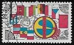 Sellos de Europa - Checoslovaquia -  Intercosmos Space Program
