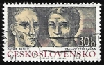Stamps Czechoslovakia -  Oskar Benes - Vaclay Prochazka