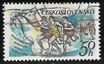 Sellos de Europa - Checoslovaquia -  Maratón Internacional de la Paz