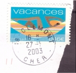 Stamps : Europe : France :  vacaciones