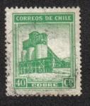 Sellos del Mundo : America : Chile : Minas de Cobre