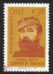 Stamps Chile -  Personalidades de la guerra chileno-peruana (1879-1884)