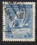 Sellos de America - Chile -  Industria de nitratos
