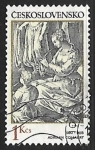 Stamps : Europe : Czechoslovakia :  Adriaen Collaert