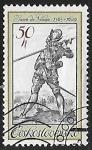 Stamps Czechoslovakia -  Bodyguard of Rudolf II