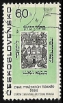 Stamps Czechoslovakia -  Museo Judío de Praga