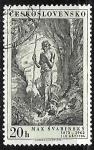 Stamps Czechoslovakia -  San Juan Bautista