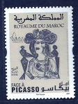 Stamps Morocco -  Pintura  (PICASSO)