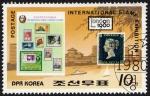 Stamps Asia - North Korea -  RES-EXHIBICIÓN POSTAL INTERNACIONAL-LONDRES 1980