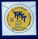 Stamps Morocco -  Semana de la solidaridad 2014