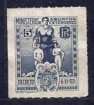 Sellos del Mundo : Europa : España : Decreto del 6-XI-1931