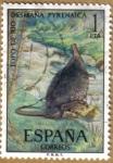Sellos de Europa - España -  TOPO DE RIO - Fauna Hispanica