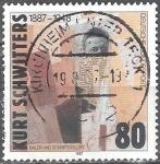 Sellos del Mundo : Europa : Alemania : Centenario del nacimiento de Kurt Schwitters (artista y escritor).