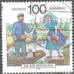 Sellos del Mundo : Europa : Alemania : Día del sello.