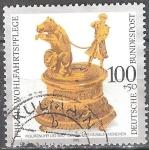 Sellos del Mundo : Europa : Alemania : Para el bienestar.preciosos relojes antiguos de colecciones alemanas.