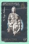 Stamps Gibraltar -  Pintura