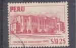 Stamps : America : Peru :  ESCUELA DE INGENIEROS