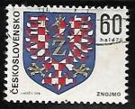 Sellos de Europa - Checoslovaquia -  Escudo de armas de Znojmo