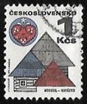 Sellos de Europa - Checoslovaquia -  Morava Horácko